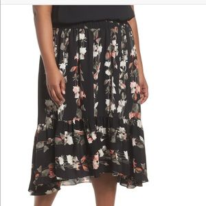 b54112cdc4 Sejour Skirts | Pleather Illusion Black Skirt | Poshmark